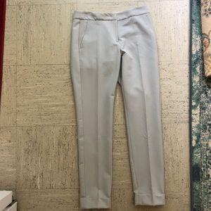 Armani Collezioni Light Blue Cuffed Pants Size 2